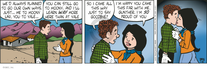 Comic Strip Greg Evans  Luann 2015-01-10 proud