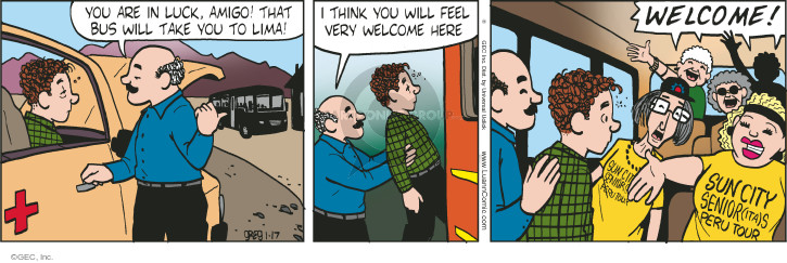 Comic Strip Greg Evans  Luann 2015-01-17 group