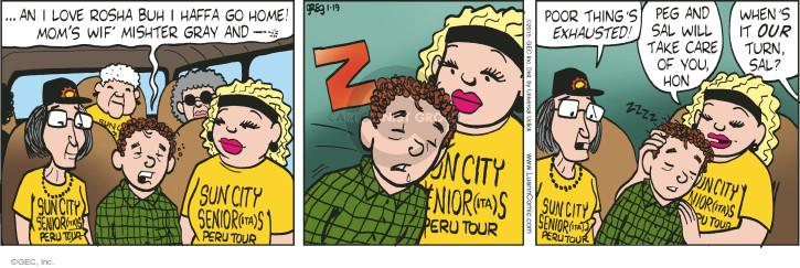 Comic Strip Greg Evans  Luann 2015-01-19 mom