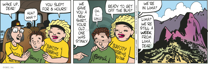 Comic Strip Greg Evans  Luann 2015-01-20 give up
