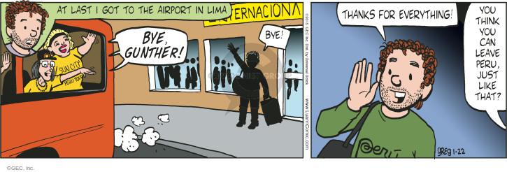 Comic Strip Greg Evans  Luann 2015-01-22 tour