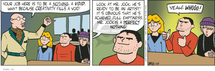 Comic Strip Greg Evans  Luann 2015-01-27 student teacher