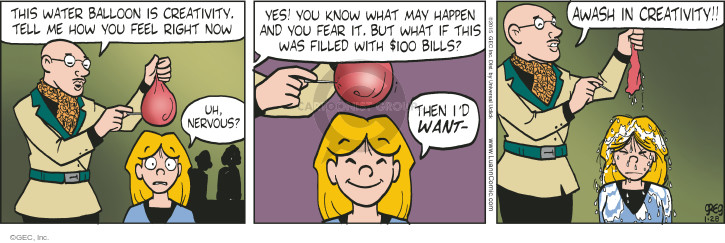 Comic Strip Greg Evans  Luann 2015-01-28 student teacher