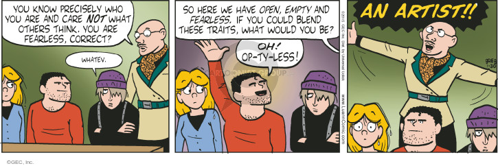 Comic Strip Greg Evans  Luann 2015-01-30 know