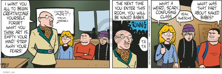 Comic Strip Greg Evans  Luann 2015-01-31 begin