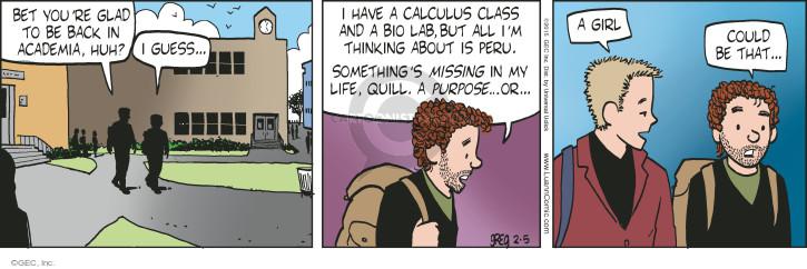 Comic Strip Greg Evans  Luann 2015-02-05 lab