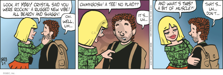 Comic Strip Greg Evans  Luann 2015-02-09 bit