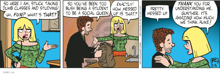 Comic Strip Greg Evans  Luann 2015-02-13 understand