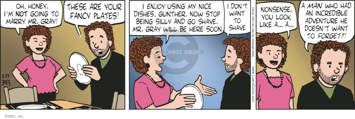 Comic Strip Greg Evans  Luann 2015-02-17 silly