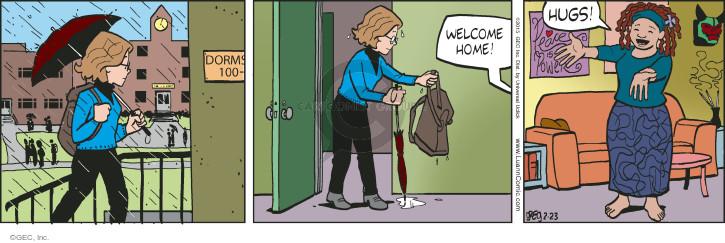 Comic Strip Greg Evans  Luann 2015-02-23 affection