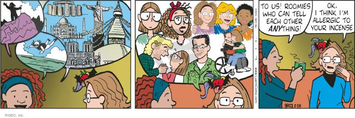 Comic Strip Greg Evans  Luann 2015-02-28 friendship