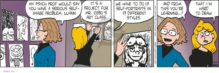 Comic Strip Greg Evans  Luann 2015-03-04 project