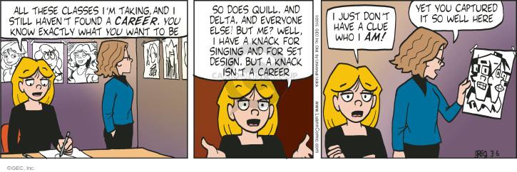 Comic Strip Greg Evans  Luann 2015-03-06 career