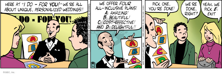 Comic Strip Greg Evans  Luann 2015-03-10 planner