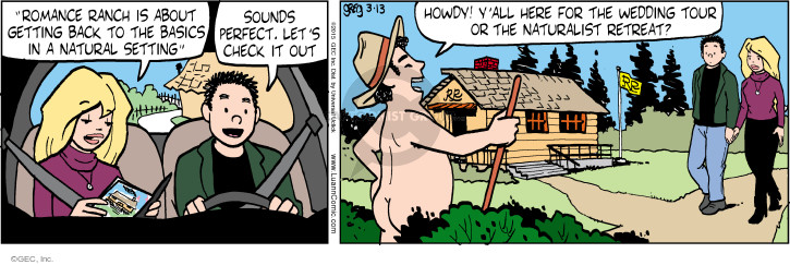 Comic Strip Greg Evans  Luann 2015-03-13 retreat