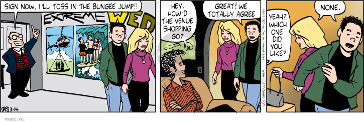 Comic Strip Greg Evans  Luann 2015-03-14 jump