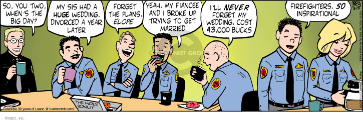 Comic Strip Greg Evans  Luann 2015-03-19 have