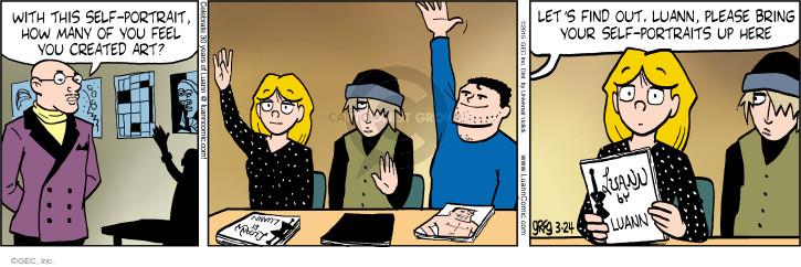 Comic Strip Greg Evans  Luann 2015-03-24 find out