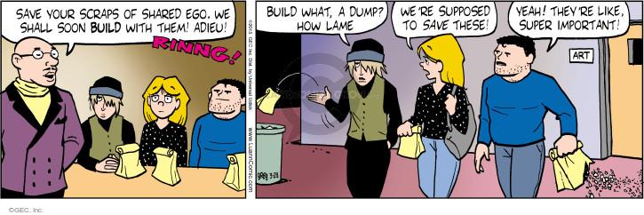 Cartoonist Greg Evans  Luann 2015-03-28 piece