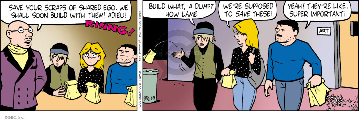 Comic Strip Greg Evans  Luann 2015-03-28 bit