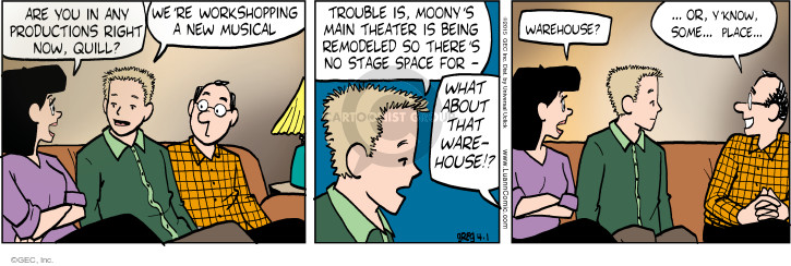 Comic Strip Greg Evans  Luann 2015-04-01 know
