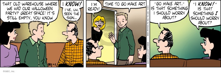 Comic Strip Greg Evans  Luann 2015-04-02 mom