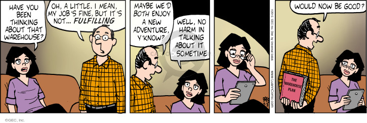 Comic Strip Greg Evans  Luann 2015-04-03 know