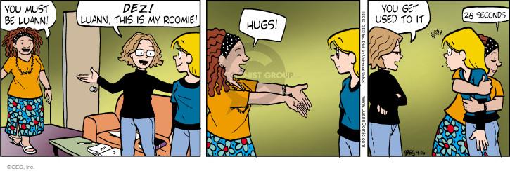 Comic Strip Greg Evans  Luann 2015-04-16 friendly