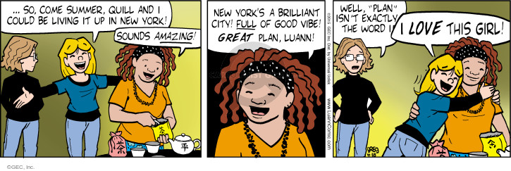 Comic Strip Greg Evans  Luann 2015-04-18 plan