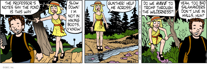 Comic Strip Greg Evans  Luann 2015-05-05 outdoors