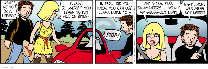 Comic Strip Greg Evans  Luann 2015-05-08 drive