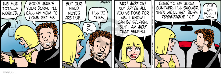 Comic Strip Greg Evans  Luann 2015-05-09 mom