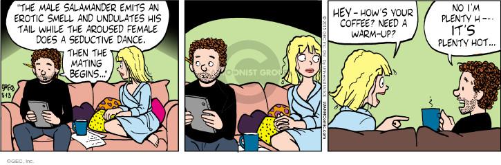 Comic Strip Greg Evans  Luann 2015-05-13 begin