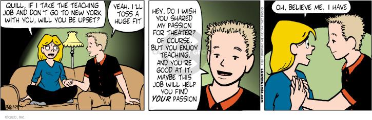 Comic Strip Greg Evans  Luann 2015-05-29 wish