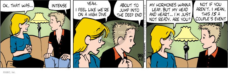 Comic Strip Greg Evans  Luann 2015-06-03 jump