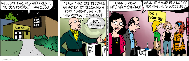 Comic Strip Greg Evans  Luann 2015-06-08 teacher
