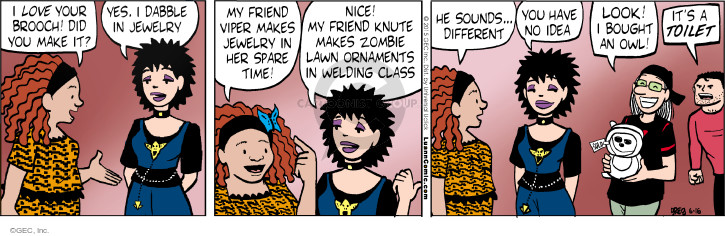 Comic Strip Greg Evans  Luann 2015-06-16 unique