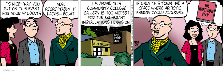 Comic Strip Greg Evans  Luann 2015-06-17 yes