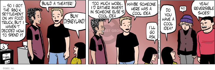 Comic Strip Greg Evans  Luann 2015-06-18 much