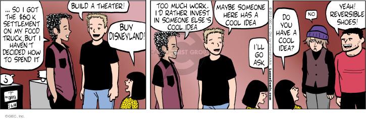 Comic Strip Greg Evans  Luann 2015-06-18 creative