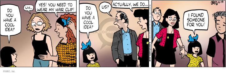 Comic Strip Greg Evans  Luann 2015-06-19 invest