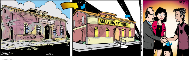 Comic Strip Greg Evans  Luann 2015-06-20 warehouse