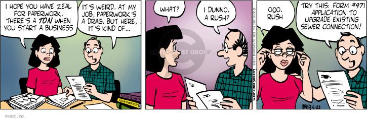 Comic Strip Greg Evans  Luann 2015-06-23 drag