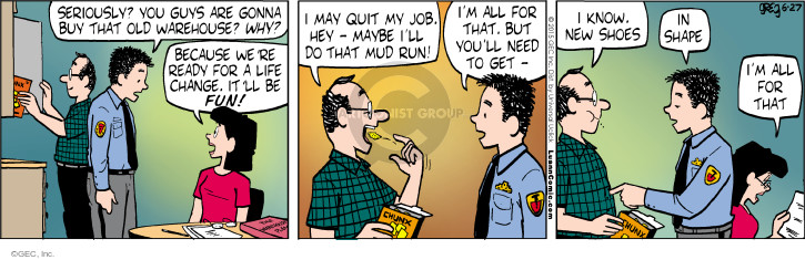 Comic Strip Greg Evans  Luann 2015-06-27 get a life