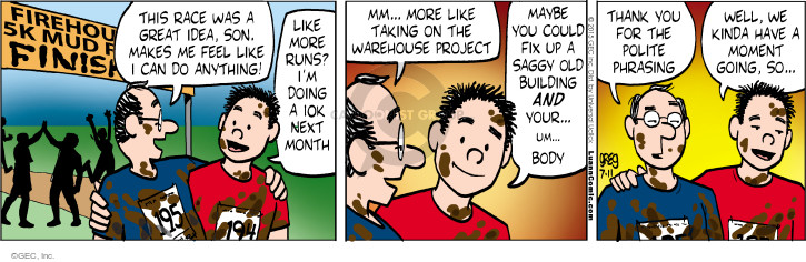 Comic Strip Greg Evans  Luann 2015-07-11 month