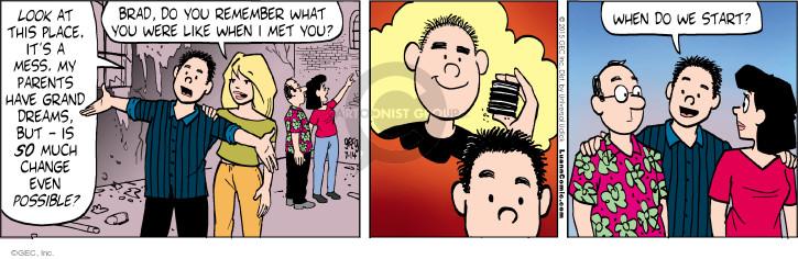 Comic Strip Greg Evans  Luann 2015-07-14 transformation