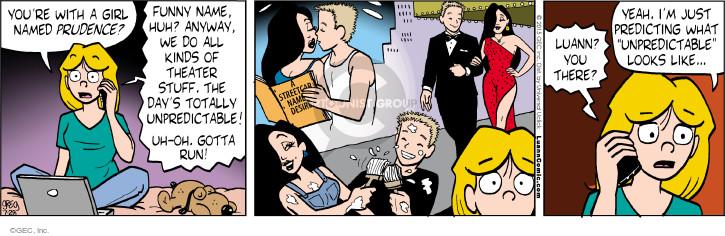 Comic Strip Greg Evans  Luann 2015-07-28 distrust