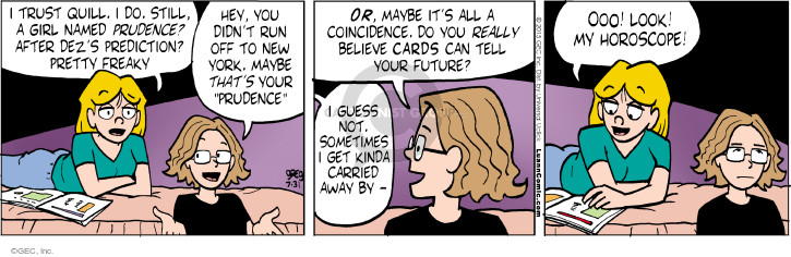 Comic Strip Greg Evans  Luann 2015-07-31 future