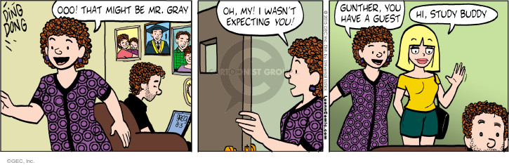 Cartoonist Greg Evans  Luann 2015-08-03 expecting