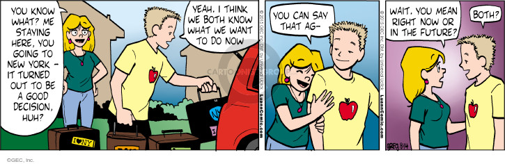 Comic Strip Greg Evans  Luann 2015-08-14 plan